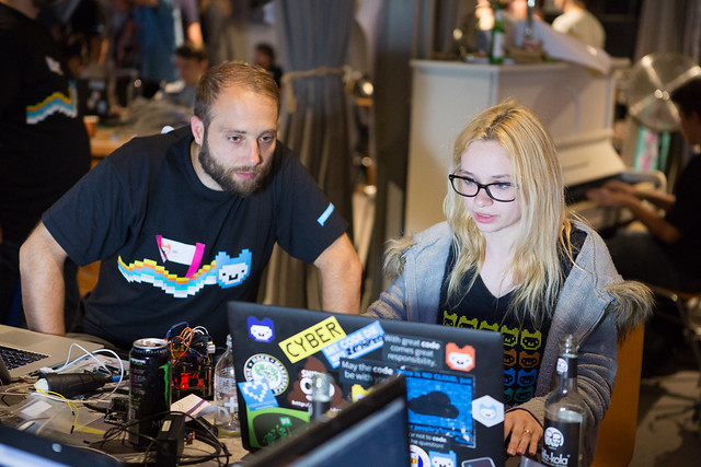 Become a mentor in the Jugend hackt lab