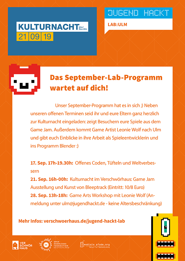 Welcome to the Jugend hackt Lab!