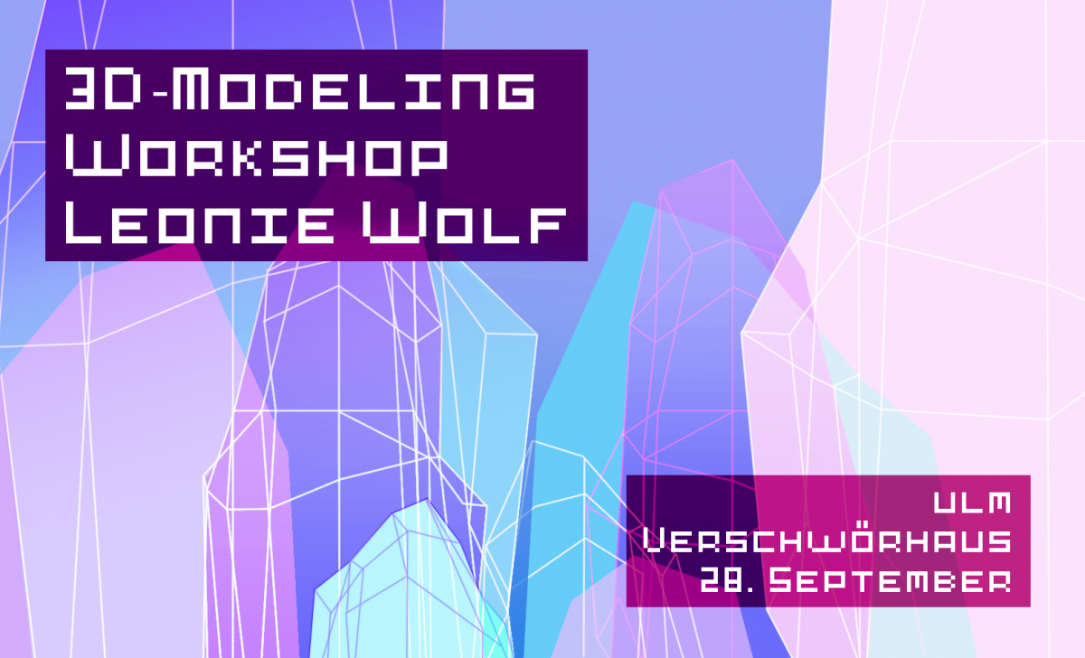 GAME ARTS 🎮 Workshop with NRW Artist Award winner Leonie Wolf 🎨