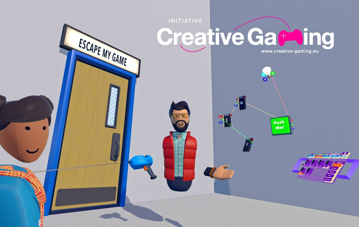 "Online-Lab-Workshop: ""Escape My Game"" mit Creative Gaming"